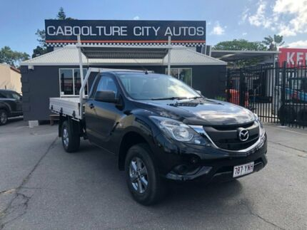 2015 Mazda BT-50 UR0YF1 XT Black 6 Speed Sports Automatic Cab Chassis Morayfield Caboolture Area Preview