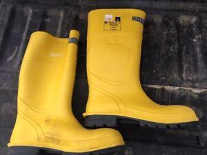 Shock resistant boots