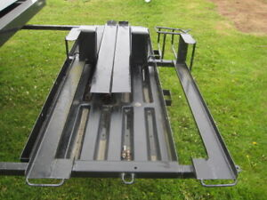 RV cargo carrier for dirt bikes, scooter or bicycles