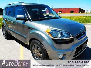 2012 Kia Soul 4U *** CERT & E-TEST ** ACCIDENT FREE *** $5,999