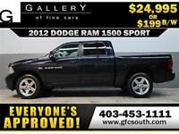 2012 DODGE RAM SPORT CREW *EVERYONE APPROVED* $0 DOWN $199/BW