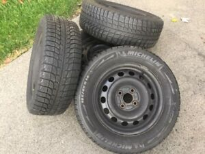 Set of 4 used X-Ice snow tires, 185/65R14
