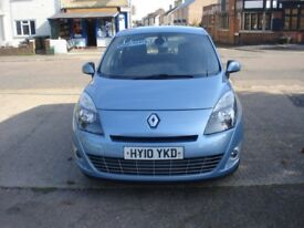 Renault GRAND SCENIC 1.5 dCi Dynamique 5dr, 2010 model, Long MOT, 7 Seater diesel
