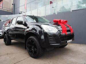 2018 Isuzu D-MAX MY18 SX Crew Cab 4x2 High Ride Black 6 Speed Sports Automatic Utility Brookvale Manly Area Preview