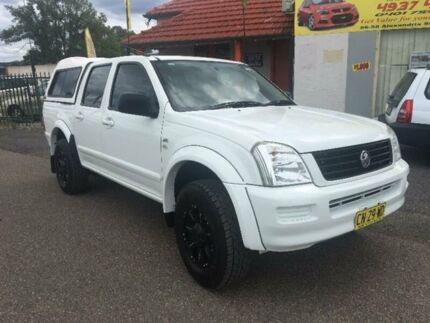 2006 Holden Rodeo RA LX White Automatic Utility