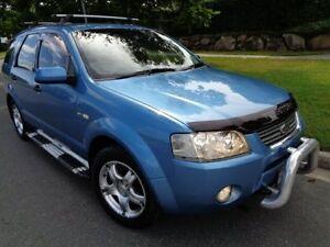 2005 Ford Territory SX Ghia (4x4) Blue Metallic 4 Speed Auto Seq Sportshift Wagon Chermside Brisbane North East Preview