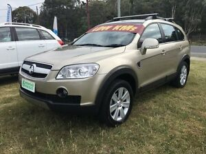 2006 Holden Captiva CG LX (4x4) Gold 5 Speed Automatic Wagon Clontarf Redcliffe Area Preview