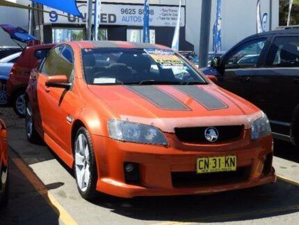 2006 Holden Commodore VE SV6 Orange 6 Speed Manual Sedan Minchinbury Blacktown Area Preview