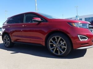 2018 Ford Edge Sport-2.7L V6 EcoBoost Engine,AWD,Suede,Cold Weat