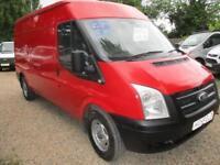 Ford Transit 2.2TDCi NO VAT 350 Med Roof Van 350 LWB GENUINE MILES