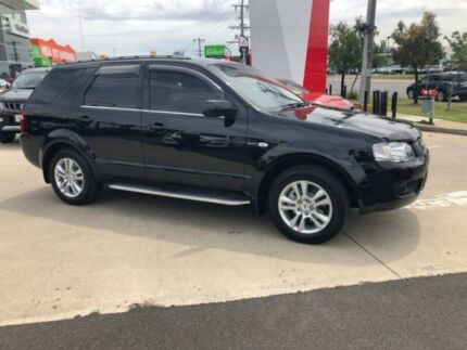 2009 Ford Territory SY TS AWD Black 6 Speed Sports Automatic Wagon Hoppers Crossing Wyndham Area Preview