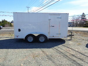 2016 7x14 Continental Enclose Cargo Trailer