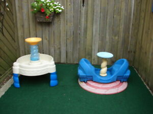 Spinner and Water table