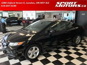 2012 Honda Civic Coupe EX! New Tires, Brakes, & Battery! Sunroof
