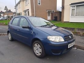 2004 fiat punto low miles at 80k ideal first car cheap on fuel tax and insurance