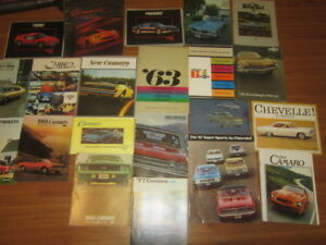 Classic Chevy Dealer BrochureS, . Big Block 780 CFM Carburetor
