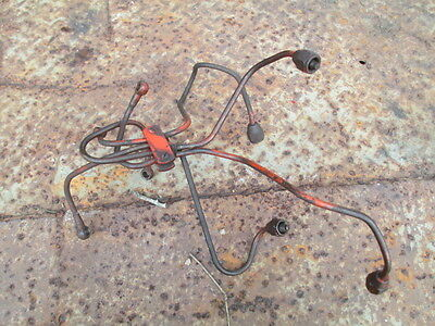 1956 Allis Chalmers Wd45 Diesel Tractor 4 Fuel Injection Lines