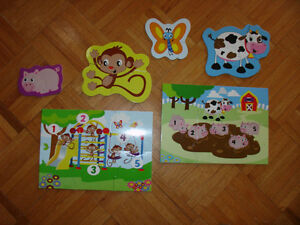 Puzzles for 1-3 year olds, Infantino brand