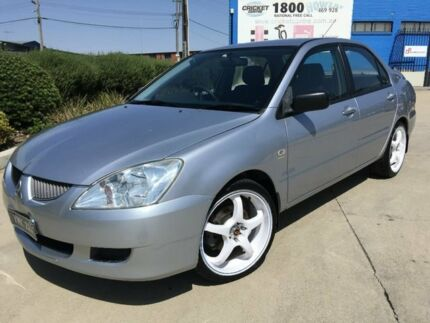 2006 Mitsubishi Lancer CH MY06 ES Silver 5 Speed Manual Sedan Fyshwick South Canberra Preview