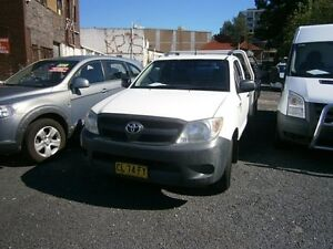 2007 Toyota Hilux TGN16R 06 Upgrade Workmate 5 Speed Manual Cab Chassis Harris Park Parramatta Area Preview
