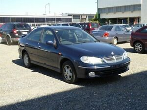 2002 Nissan Pulsar N16 MY03 Q Blue 5 Speed Manual Hatchback Strathpine Pine Rivers Area Preview