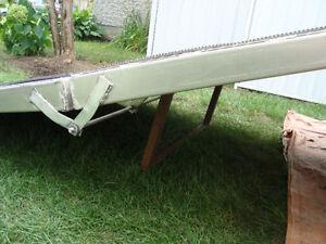 10'X5' all Aluminum Utility Ramp in 2-sections Checker Plate Gatineau Ottawa / Gatineau Area image 3