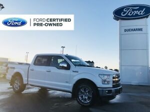 2016 Ford F-150 Lariat, NAV, Remote Start, Moonroof, SYNC3, CLEA