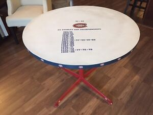 Montreal Canadians Bar Table