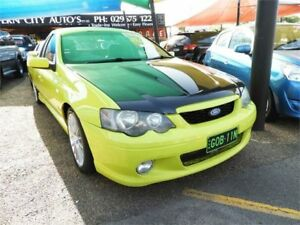 2003 Ford Falcon BA XR8 Ute Super Cab Green 4 Speed Sports Automatic Utility