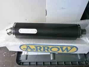 CARBON FIBRE SLIP ON SPORTS MUFFLER ARROW BRAND Campbelltown Campbelltown Area Preview