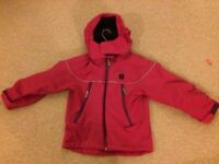 Polarn O Pyret Red Shell jacket