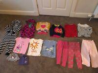 3-4 girls bundle- 14 items - Boden, next m&co, M&S , GAP, Hello Kitty