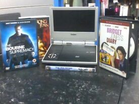 Goodmans Portable Dvd Player + 5 Dvds