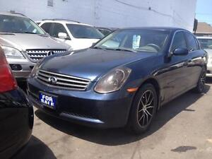 2006 infinti  G35 x leather sunroof***********SSOLD***********