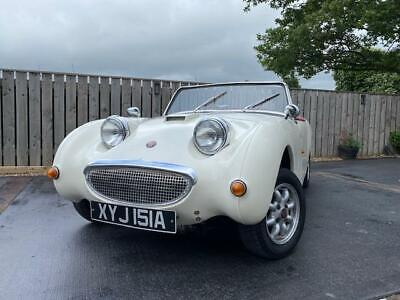 AUSTIN HEALEY FROG EYE SPRITE RECREATION OFFERS PX MINI COOPER OR MOTORCYCLES ?