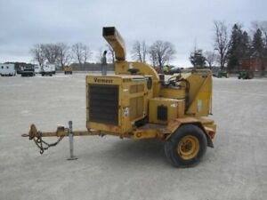 2002 Vermeer B1250A WOOD CHIPPER -