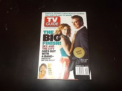 Sarah Jessica Parker, Donald Trump - TV Guide Magazine 2004