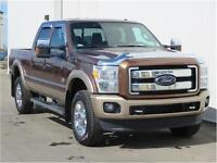2012 F350 KING RANCH Diesel 4X4 Chrome Alum/Sun/Nav! Low $$$$