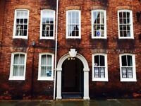 OFFICE & CONSULTING ROOM AVAILABLE ALL DAY WEDNESDAYS in central Shrewsbury, with parking nearby