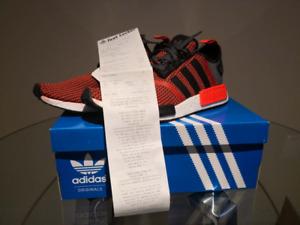 BNIB Adidas NMD R1 LUSRED/CBL size 10 Deadstock
