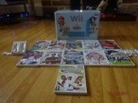 Nintendo Wii & 11 Games