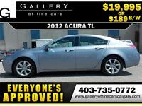 2012 Acura TL V6 $189 bi-weekly APPLY NOW DRIVE NOW