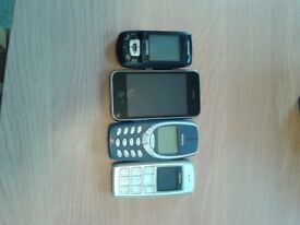JOBLOT UNTESTED 7 MOBILE PHONES FOR SALE