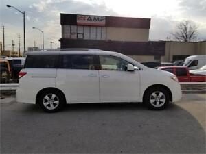 2011 Nissan Quest 3.5L FWD AUTO POWER DOORS CVT KEYLESS ENTRY.