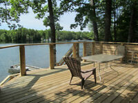 Waterfront Cottage - Oak Lake (30 minutes north of Havelock)