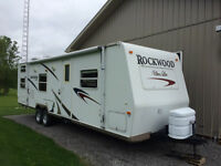 Rockwood Ultra Light, 27 foot camper trailer