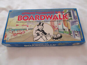 Vintage Monopoly Themed 80's Board Game
