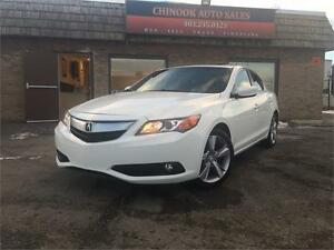 2013 Acura ILX Premium w/Heated Leather Seat,Sunroof,Rear Camera