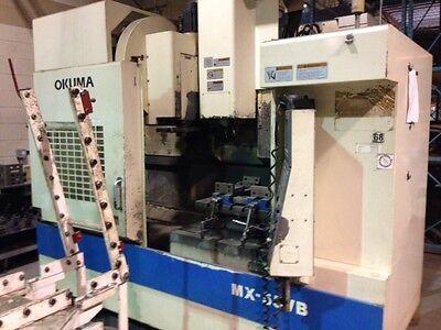 9402 Used Okuma Mx55vb Vertical Machining Center Turning Milling Equipment