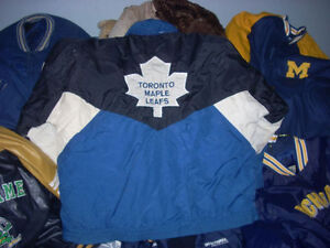 LEATHER coats jackets sports teams harley vests and Bball caps Windsor Region Ontario image 3
